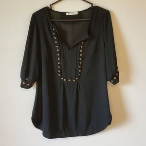 Anthropologie The Impeccable Pig Sheet Blouse